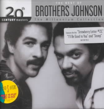 20TH CENTURY MASTERS:MILLENNIUM COLLE BY BROTHERS JOHNSON (CD)